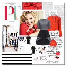 """Optimism - Lattori.com 27"" by undici ❤ liked on Polyvore featuring moda, Arco, Arthur Arbesser, Lattori e Versace"
