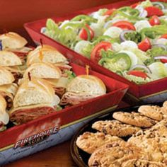 See our catering solutions at Firehouse Subs! @Firehouse Subs