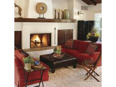 Rev Up Your Living Room with Red - Home and Garden Design Ideas