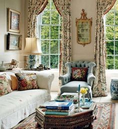 Fancy french country living room decorating ideas (32)