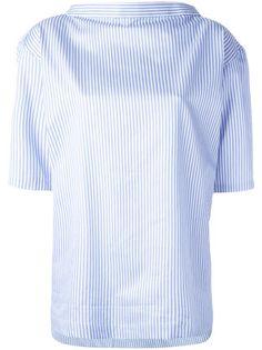 Comme Des Garçons Shirt Boys ピンストライプ柄ブラウス