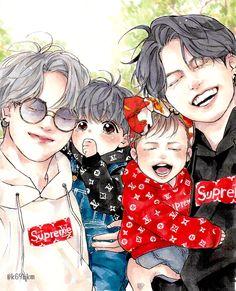 Our Omega Leadernim // ( Webtoon çeviri) Vkook Fanart, Jungkook Fanart, Bts Jungkook, Yoonmin Fanart, Jimin Fanart, Dragon Rey, Love You Best Friend, Familia Anime, Foto Jimin