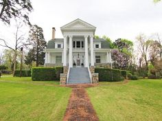200 Easterwood St, Cherokee, AL 35616 Old Houses For Sale, Lawn Maintenance, Built In Storage, Southern Living, Victorian Homes, Bed And Breakfast, Home And Family, Real Estate, Exterior