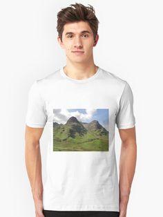 'Glencoe, the Highlands , Scotland' T-Shirt by David Rankin Kids Diet, Anime Style, Vocaloid, Pantone, Tshirt Colors, Free Food, Chiffon Tops, Old School, Sims