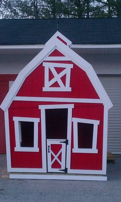 The Barn Playhouse by Imagine That by ImagineThatPlayhouse on Etsy, $3135.00
