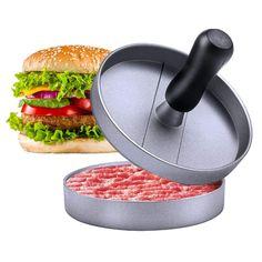 Burger Press Niviy Hamburger Non-stick Patty Maker Heavy Duty Aluminum Mold. Hamburger Maker, Hamburger Patties, Bbq Grill, Grilling, Barbecue Party, Burger Party, How To Make Hamburgers, Burger Press, Good Burger