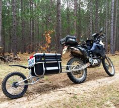 "983 Likes, 29 Comments - Chris (@motorcyclechronicles) on Instagram: ""First test ride with the @kipmoto #dualsport #adv trailer. Looking forward to camping with it.…"""