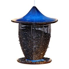 I pinned this Pagoda Bird Feeder in Cobalt from the Veranda Collection event at Joss and Main!