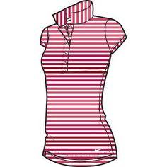 Nike Golf Ladies Sport Stripe Polo 2014 Wilson Golf Clubs, Golf Shop, Golf Putters, Golf Irons, Nike Golf, Ladies Golf, Golf Ball, Polo, Lady