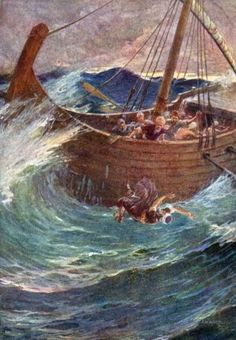 Jonah 1:3But Jo′nah got up to run away from Jehovah to Tar′shish; he went down to Jop′pa and found a ship going to Tar′shish. So he paid the fare and went aboard to go with them to Tar′shish, away from Jehovah. 4Then Jehovah hurled a strong wind at the sea, and there was such a violent storm on the sea that the ship was about to be wrecked