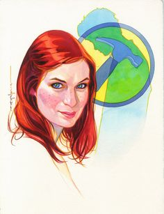 Brian Stelfreeze Penny (Felicia Day)
