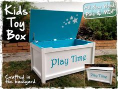 Childrens Toy Box | Do It Yourself Home Projects from Ana White