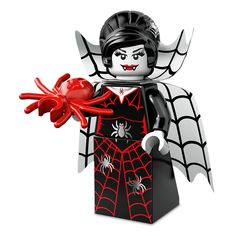 Monster Minifigures for Halloween The new LEGO Monster Minifigures: Spider Lady! Great collectibles, or top Halloween cakes with them.The new LEGO Monster Minifigures: Spider Lady! Great collectibles, or top Halloween cakes with them. Lego Halloween, Halloween 2015, Halloween Cakes, Halloween Treats, Halloween Costumes, Lego Minifigure, Minifigura Lego, Zombie Cheerleader, Lego People