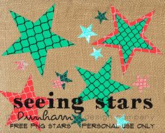FREE PNG Stars Dunham Design Company Mommy's Idea Notebook Blog