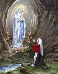 Pictures Of Jesus Christ, Religious Pictures, Religious Art, Holly Pictures, Cute Couple Pictures, Blessed Mother Mary, Blessed Virgin Mary, Virgin Mary Art, Angel Garden Statues