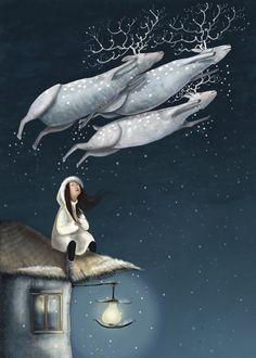 music in silence by Olga Ert, via Behance