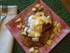 Healthy Apple Spice Pancakes