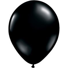 "Onyx Black Qualatex Balloons - 5"" - Pack of 10"