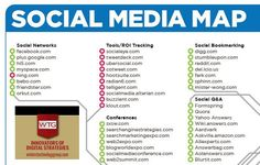 #SocialMediaMap | #SocialNetwork