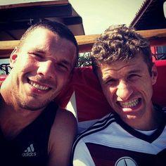 Podolski  and Müller