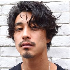 Perm Hair Men, Wavy Hair Men, Mens Perm, Japanese Men Hairstyle, Asian Men Hairstyle, Men New Hair Style, Medium Hair Styles, Curly Hair Styles, Asian Men Long Hair
