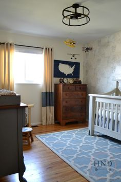 Nursery Reveal: Baby Boyer Nursery |