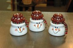 upcycling ideas with glass insulators diy glass insulator snowmen diy christmas ornaments Christmas Snowman, Winter Christmas, Christmas Holidays, Christmas Decorations, Christmas Ornaments, Snowman Crafts, Christmas Projects, Holiday Crafts, Glass Insulators