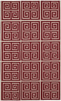 Surya greek key Frontier rug (FT418-58)