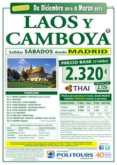 LAOS y CAMBOYA, salidas Sábados del 14/02 al 28/03 desde Madrid (11d/8n) precio final desde 2.725€ ultimo minuto - http://zocotours.com/laos-y-camboya-salidas-sabados-del-1402-al-2803-desde-madrid-11d8n-precio-final-desde-2-725e-ultimo-minuto/