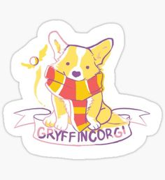 Gryffincorgi Sticker
