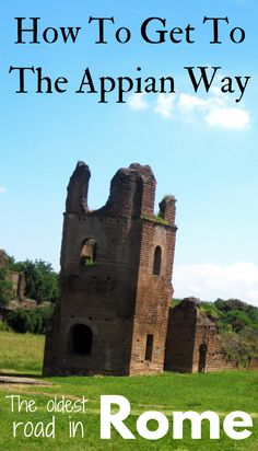 Looking for the oldest road in Rome? Visit the peaceful off-the-path attraction of the Appian Way (Via Appia Antica). A beautiful walk in Rome. Includes how to get to the Appian Way.