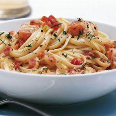 Zum Verwöhnen... - Liebe Herren der Schöpfung, insbesondere bei den Damen kommt Pasta mit Lachs sehr gut an!