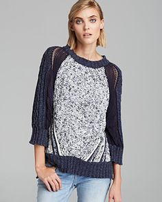 MARC BY MARC JACOBS Sweater - Claudia Cable Knit | Bloomingdale's