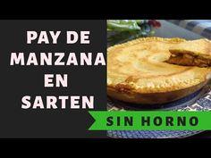 Pay de manzana en sartén Sin horno!!! (ASMR) - YouTube No Bake Desserts, Dessert Recipes, Cake Pops, Asmr, Menu, Apple, Make It Yourself, Baking, Youtube