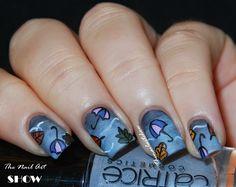 Storm Gradient Nail Art