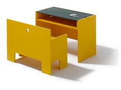 Lacquered kids table WONDER BOX - Richard Lampert
