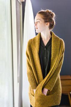 Cardigan knitting pattern - $9