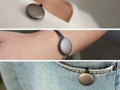 This elegant device monitors your daily physical activity, without you noticing it's there.