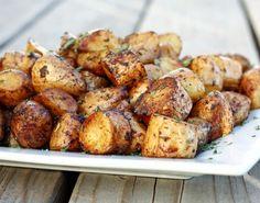 Balsamik Sirkeli Fırında Patates