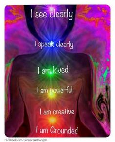Which chakra are you focused on today? Re-pinned by http://Reiki-Master-Training.com