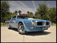 1970 Pontiac Trans Am Ram Air IV 400 cid 370 horsepower