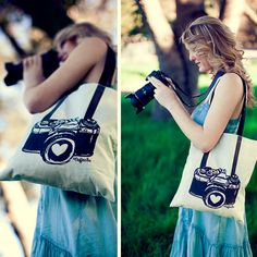 Limited Edition Photographer Tote Bag Designed by Galler.ee