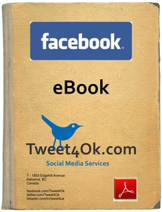 Now available for download $17: The Tweet4Ok Facebook Pages eBook!  Hint: Facebook fans can get a 25% off coupon!  #SocialMedia #Facebook #eBook