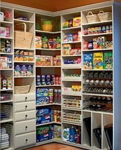 Pantry storage idea