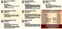 I JJGG Cocina de Invierno, Ribadesella, 30 nov 1 y 2 diciembre, 20€ (bebida no incluida) Los menús II