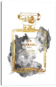 Chanel Wall Art, Canvas Prints & Paintings   iCanvas Chanel Wall Art, Chanel Canvas, Chanel Art, Chanel Perfume, Grey Canvas Art, Canvas Art Prints, Gold Canvas, Canvas Artwork, Chanel Wallpapers