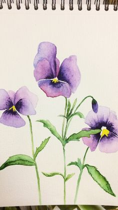 Watercolor Cards, Abstract Watercolor, Watercolor Illustration, Watercolour Painting, Watercolor Flowers, Watercolor Paintings For Beginners, Painting Inspiration, Art Drawings, Illustrations