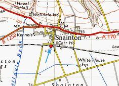 Disused Stations: Snainton Station Disused Stations, British Rail, Trains, Maps, Scotland, Hobbies, England, Blue Prints, England Uk