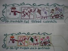 Mariasun y sus Ideas: An invisible red ...