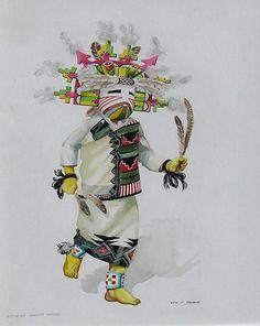 """Butterfly Kachina Maiden"""